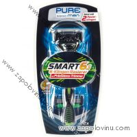 Pure Men Smart 6.1 Premium Holicí strojek se šesti břity