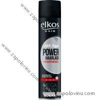 Elkos Power lak na vlasy s mega silnou fixací 400ml