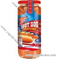 G+G Hot Dog párky 8 ks 650 g (375 g ATG)