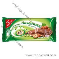 G+G mléčná čokoláda s lískovými ořechy 100g
