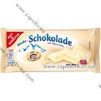 G+G Bílá čokoláda z alpského mléka, 100g