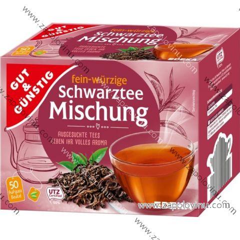 G+G Černý čaj mix 50 sáčků 87.5 g