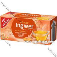 G+G Zázvorový 100% čaj 25 sáčků, 75g