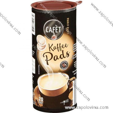 Cafèt Caffe Crema kávové kapsle 20 ks 144g