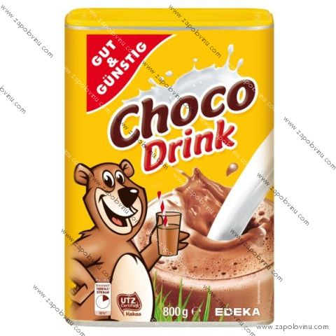 G+G čokoládový nápoj 800 g