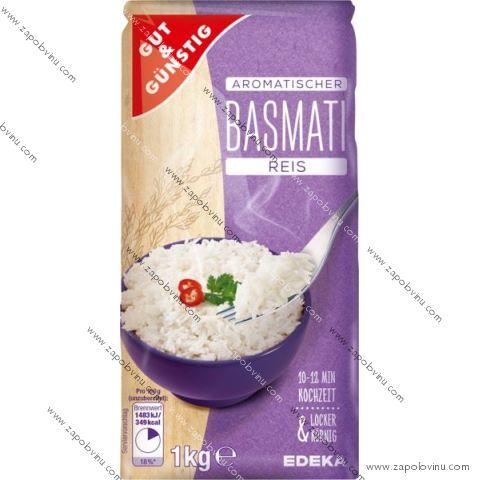 G+G Rýže BASMATI 1 Kg