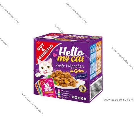 G+G Kapsičky pro kočky v želé 8 ks, 800g
