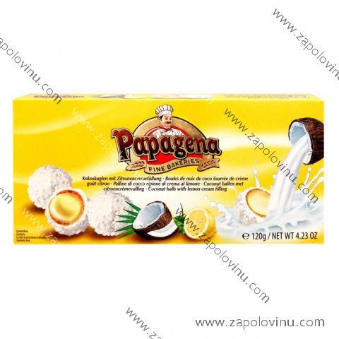 Papagena Kokosové kuličky s citrónovou náplní 120g