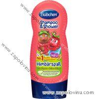 Bübchen šampon a sprchový gel malina 230 ml
