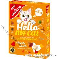 Gut + Günstig Granule pro kočky s drůbežím masem 1000 g