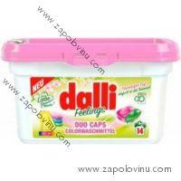 Dalli Feelings Duo Caps na barevné prádlo 14 ks