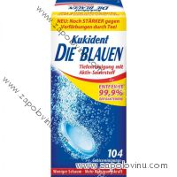 Kukident Die Blauen tablety na protézy 104 ks