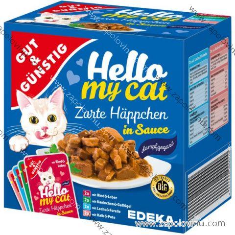 G+G Kapsičky pro kočky v omáčce 8 ks, 800g