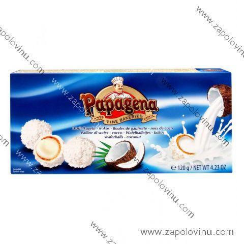 Papagena Kuličky plněné kokosovým krémem 120g