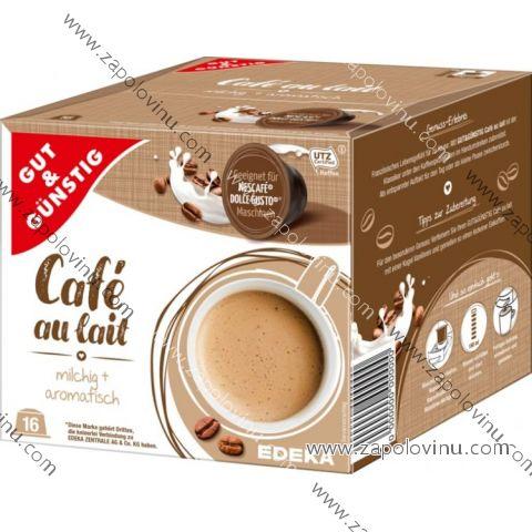 G+G kávové kapsle pro Nescafé Dolce Gusto Café Au Lait 16 ks