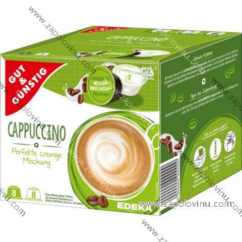 G+G kávové kapsle pro Nescafé Dolce Gusto Cappuccino 16 ks
