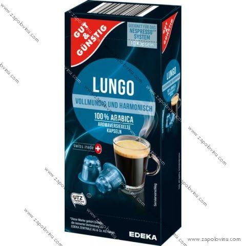 G+G Lungo pro Nespresso 10 kapslí