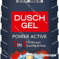 Elkos Men POWER ACTIVE 3v1 sprchový gel 300ml