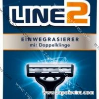 Elkos Line2 Jednorázová holítka s dvojitou čepelí 10ks