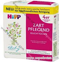 HiPP Babysanft čistící vlhčené ubrousky 4 x 56 ks