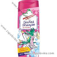 Tabaluga Sprchový gel a šampon pro děti - červený 300ml