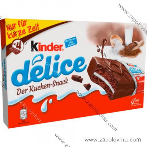 Kinder Delice 156g - 4ks