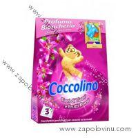 Coccolino vonné sáčky Frutti Rossi 3ks - růžové