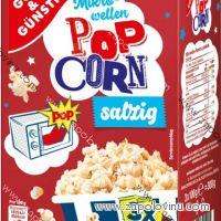 G+G popcorn slaný 3x100g