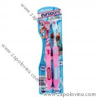 Eurodenc Dětské zubní kartáčky pro děti od 6 let