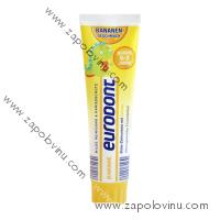 EURODENT Dětský zubní krém Banán, pro děti od 0 do 3 let 100 ml
