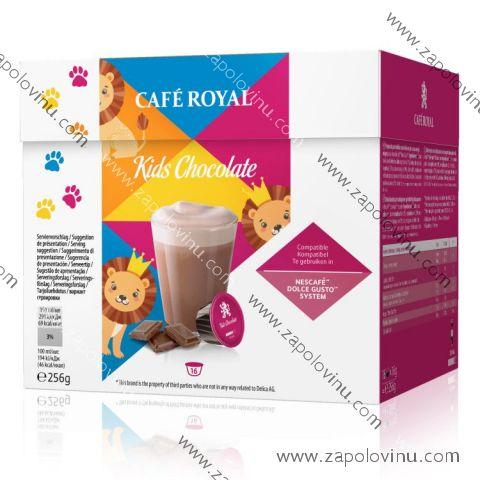 Café Royal kávové kapsle pro Dolce Gusto Horká Čokoláda 16 ks