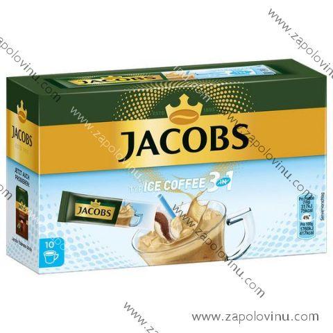 Jacobs 3v1 Ice Coffee 10 ks 180 g