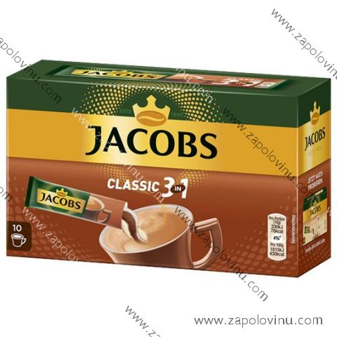 Jacobs 3v1 10 porcí šálků