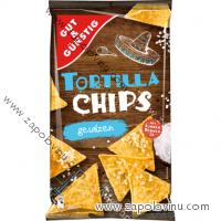 G+G Tortilla chips, přírodně soleno, 300 g