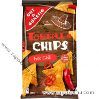 G+G Tortilla chips, HOT CHILI, 300 g