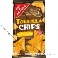 G+G Tortilla chips, Nacho se sýrem, 300 g