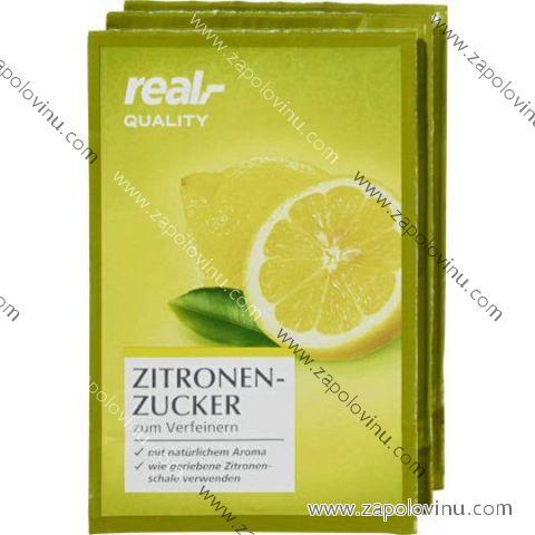 Real Quality citrónový cukr pro zjemnění 3x10g