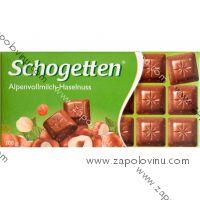 Schogetten mléčná čokoláda s lískovými oříšky 100 g