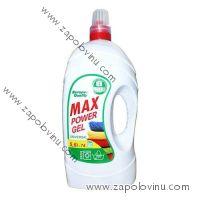 Max Power gel 5,6L tekutý prací prostředek Univerzální 74 PD