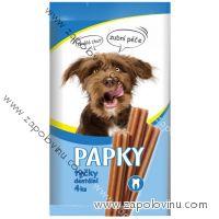 PAPKY dentální tyčinky pro psy 4 ks