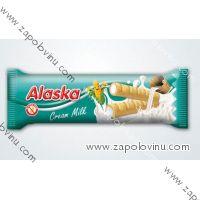 Alaska Kukuřičné trubičky mléčný krém 18g