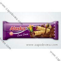 Alaska Kukuřičné trubičky plněné kakaové 18g