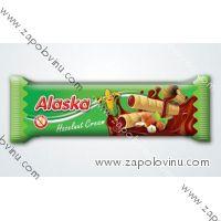 Alaska Kukuřičné trubičky lískooříškové 18g