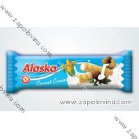 Alaska kukuřičná tyčinka kokosový krém 18g