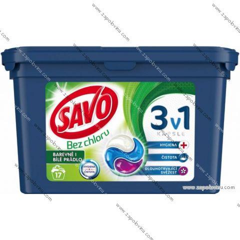 Savo Universal trio kapsle na praní 17 PD