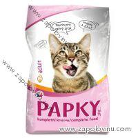 Papky kompletní krmivo s drůbežím pro kočky 2 kg