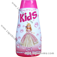 BEAUTY LINE 2V1 S.G. A ŠAMPON PRINCESS 500 ML