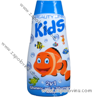 BEAUTY LINE 2V1 S.G. A ŠAMPON HAPPY FISH 500 ML