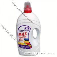 Max Power gel na barevné prádlo 5,6 l 74 várek