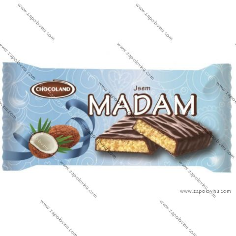 Chocoland Jsem Madam tmavá 100 g